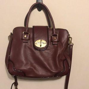 Antonio Melani Ox blood handbag